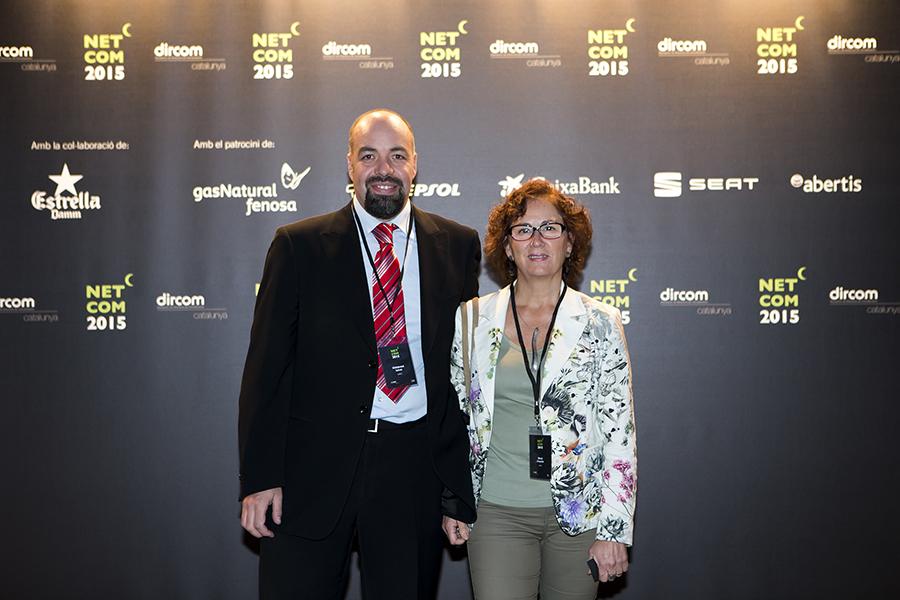 Mercè Chiapella i Hildebrand Salvat a Netcom 2015